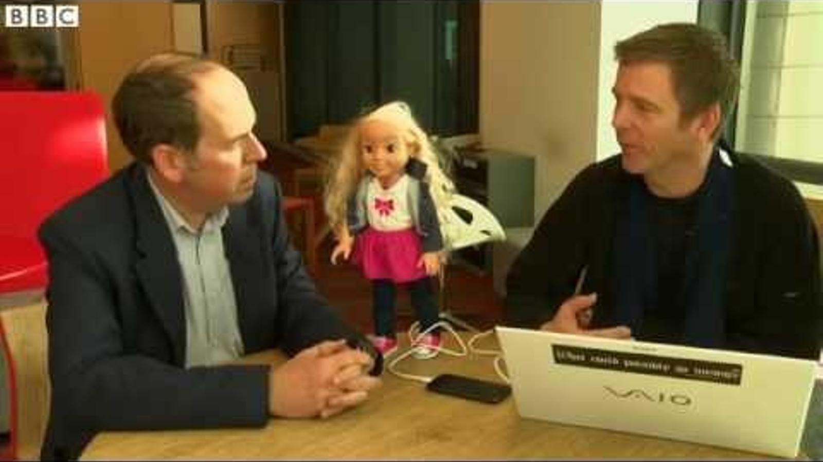 Vídeo dela BBC sobre la nina Cayla