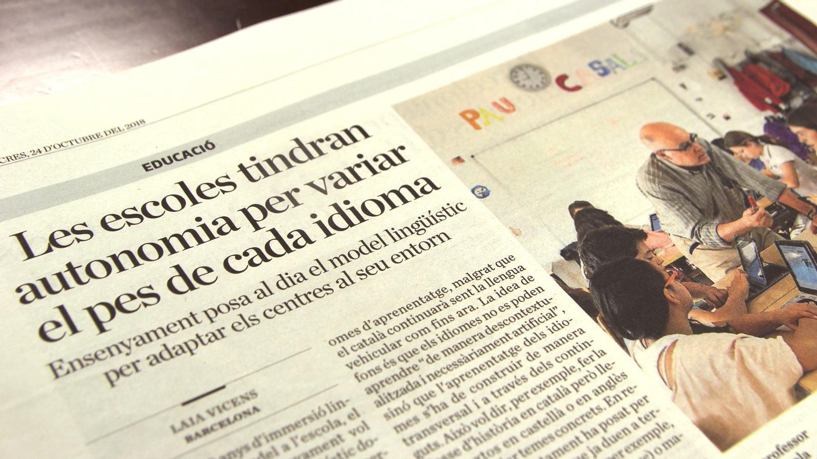 L'anàlisi d'Antoni Bassas: 'El 'xino' que despatxa en català'