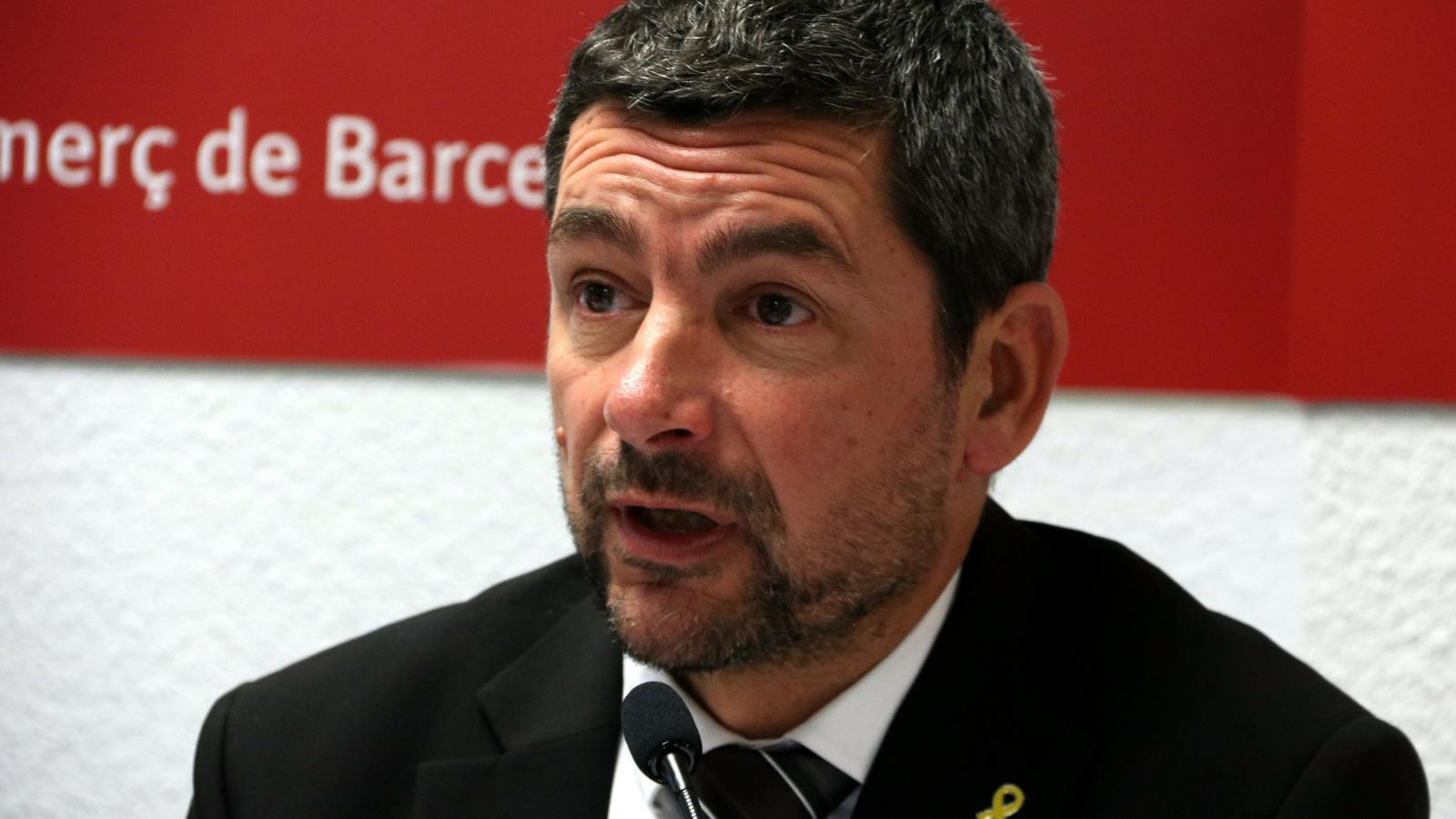 El president de la Cambra de Comerç de Barcelona, Joan Canadell.