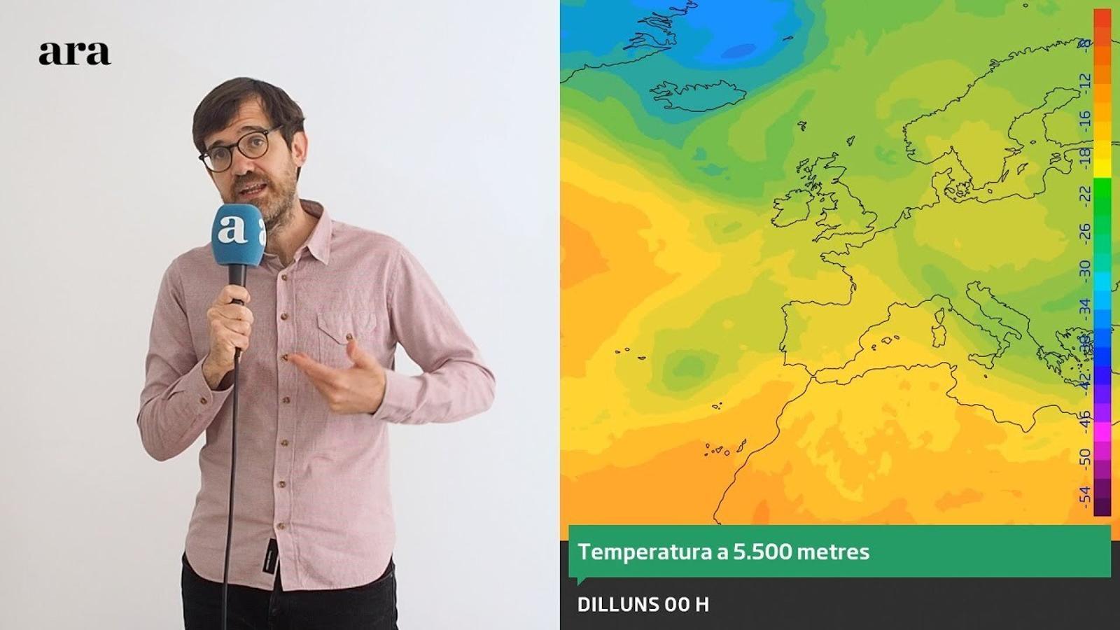 La méteo: el juny començarà sense pics de calor