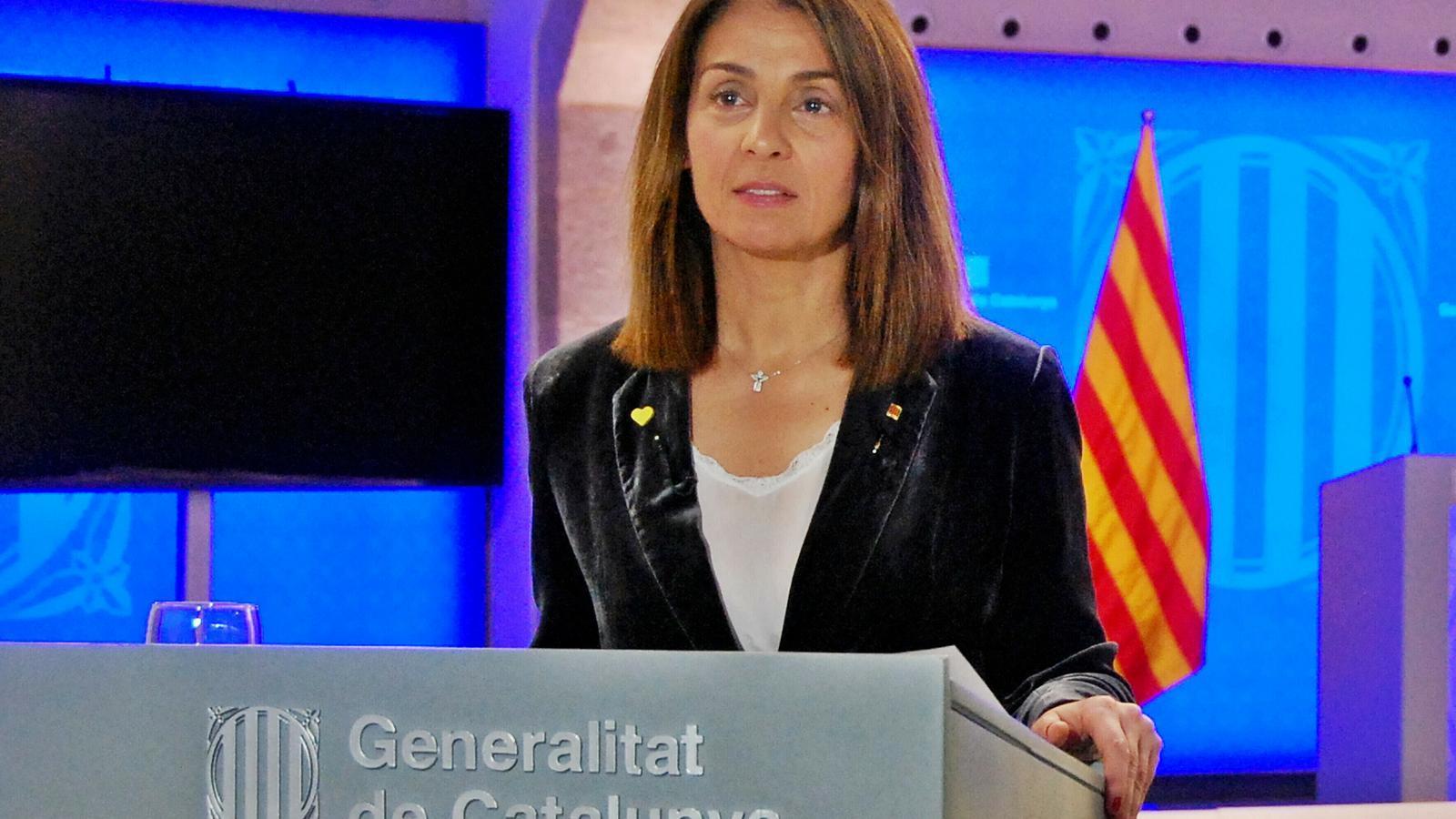 EN DIRECTE | Roda de premsa de la portaveu de la Generalitat, Meritxell Budó