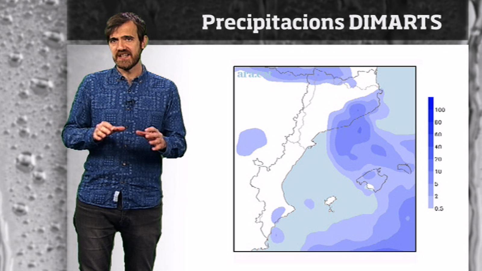 Méteo especial: temporal a la baixa, setmana de molts canvis