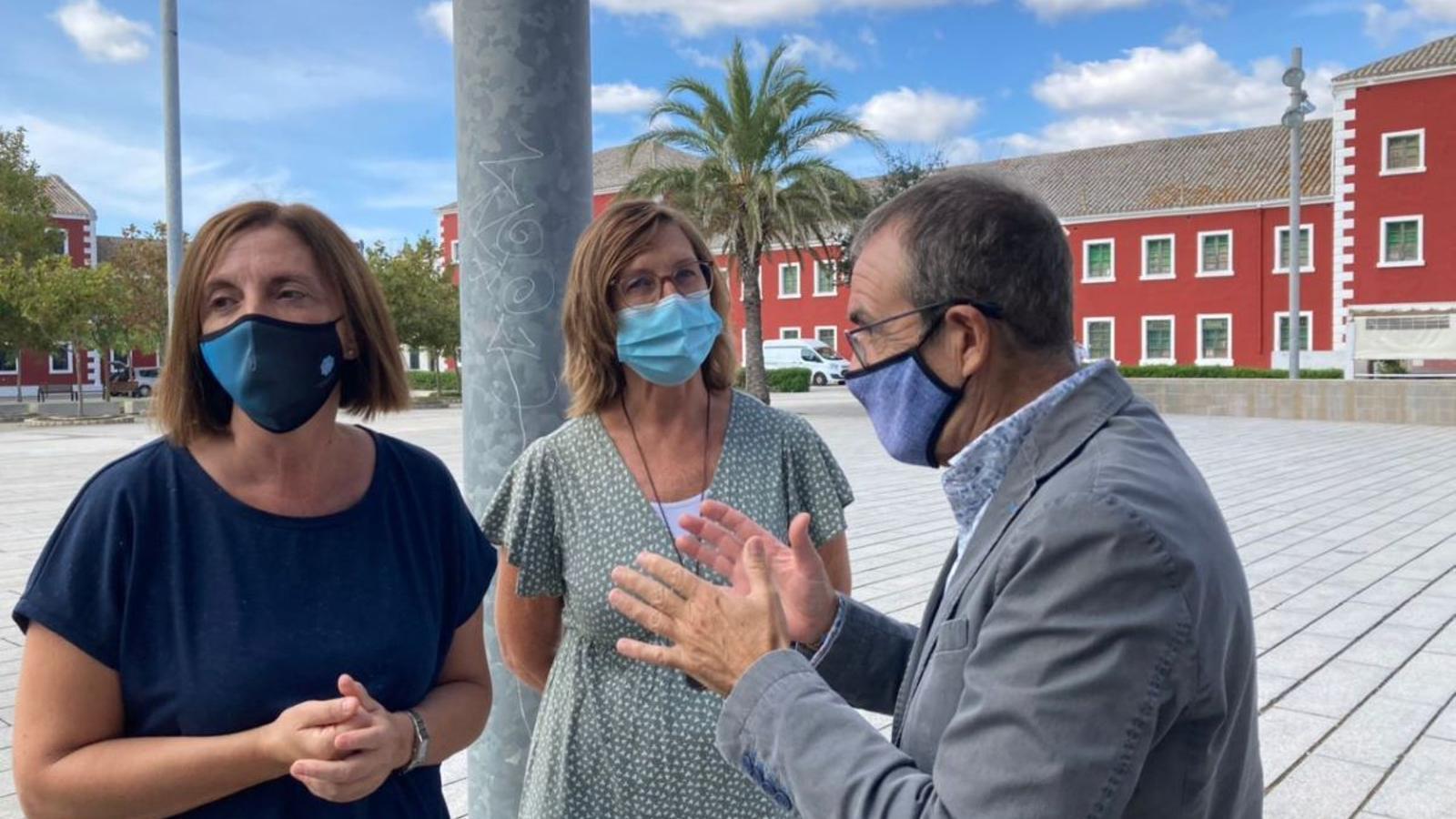 Maite Salord, Joan Escandell i Juan Pedro Yllanes han detallat l'actuació.