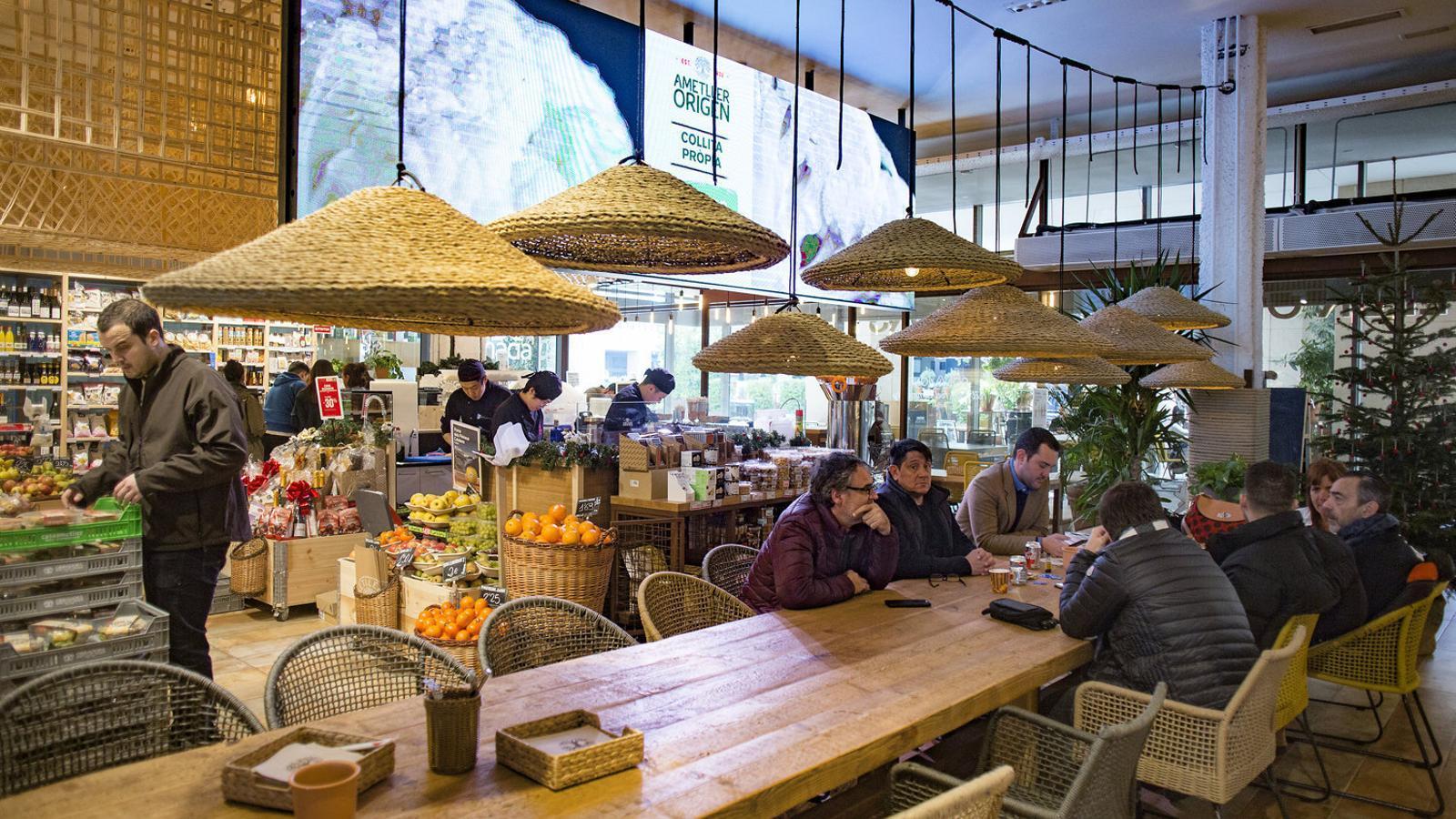 Ametller reforça la seva imatge sostenible amb un nou restaurant