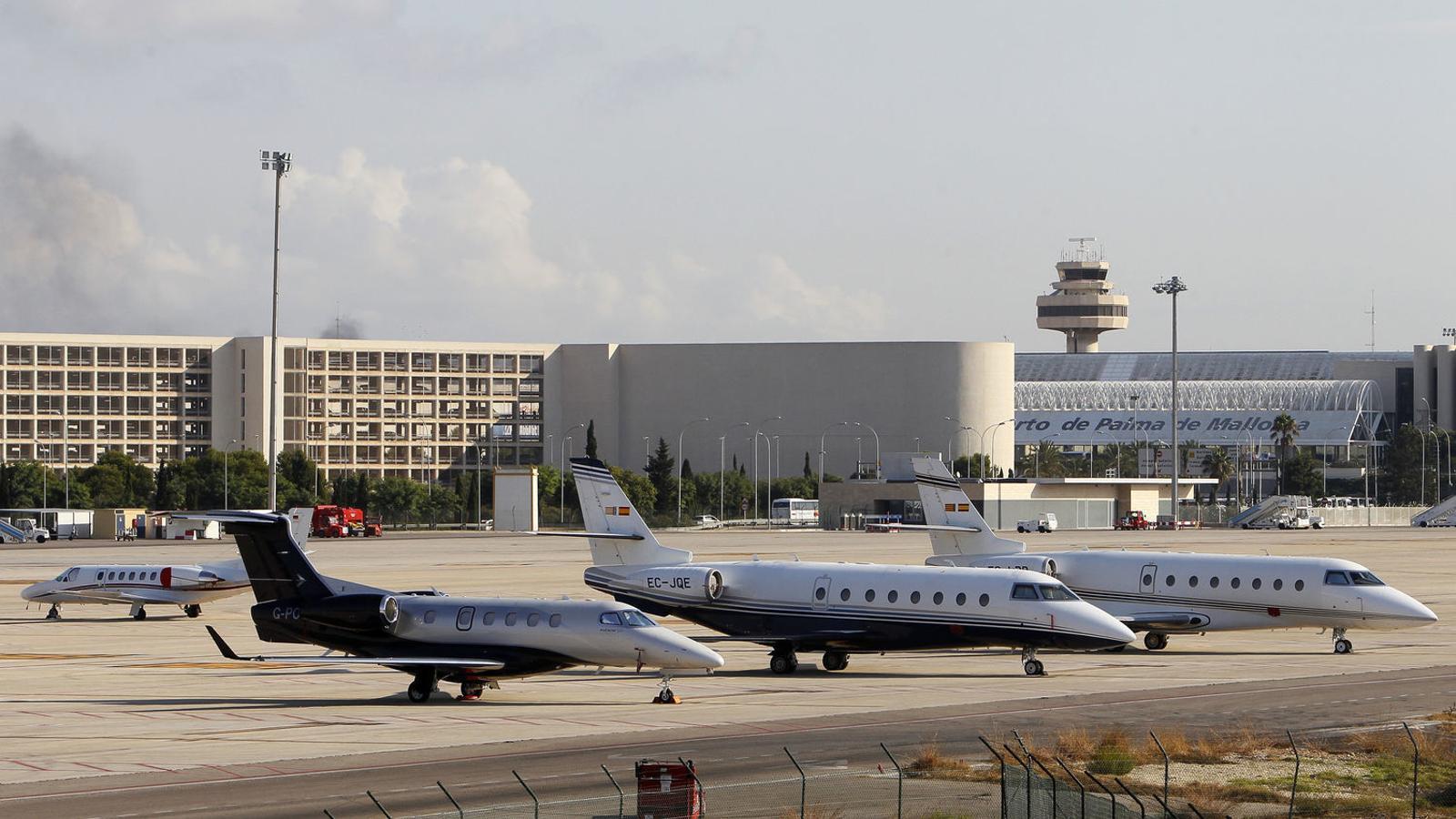 L'aeroport ja ha superat els 28 milions de passatgers.