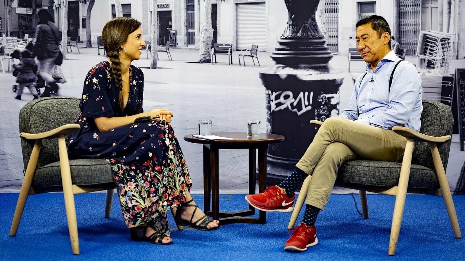 Entrevista de Laura Rosel a Josep Maria Kao
