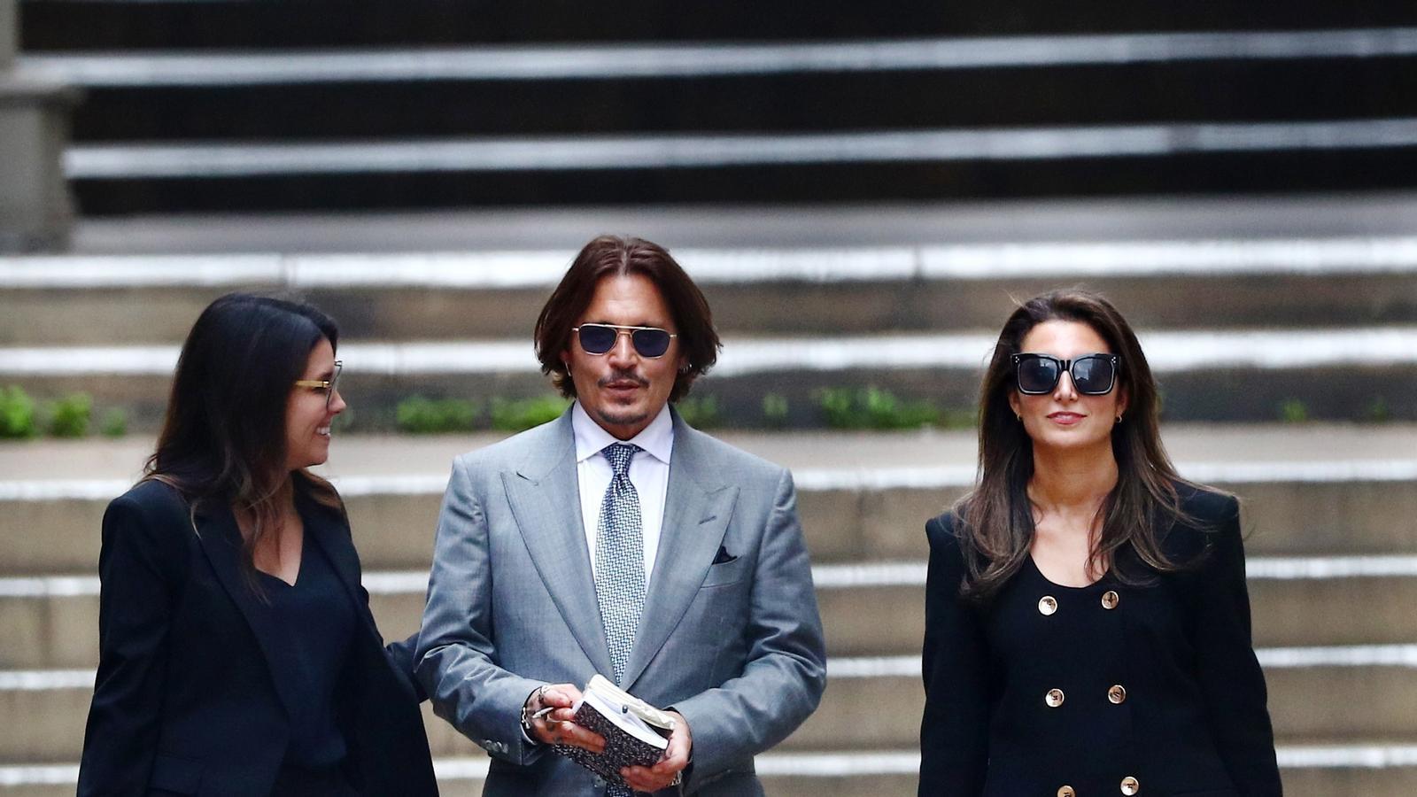 Winona Ryder i Vanessa Paradis diuen que Johnny Depp mai va ser violent amb elles