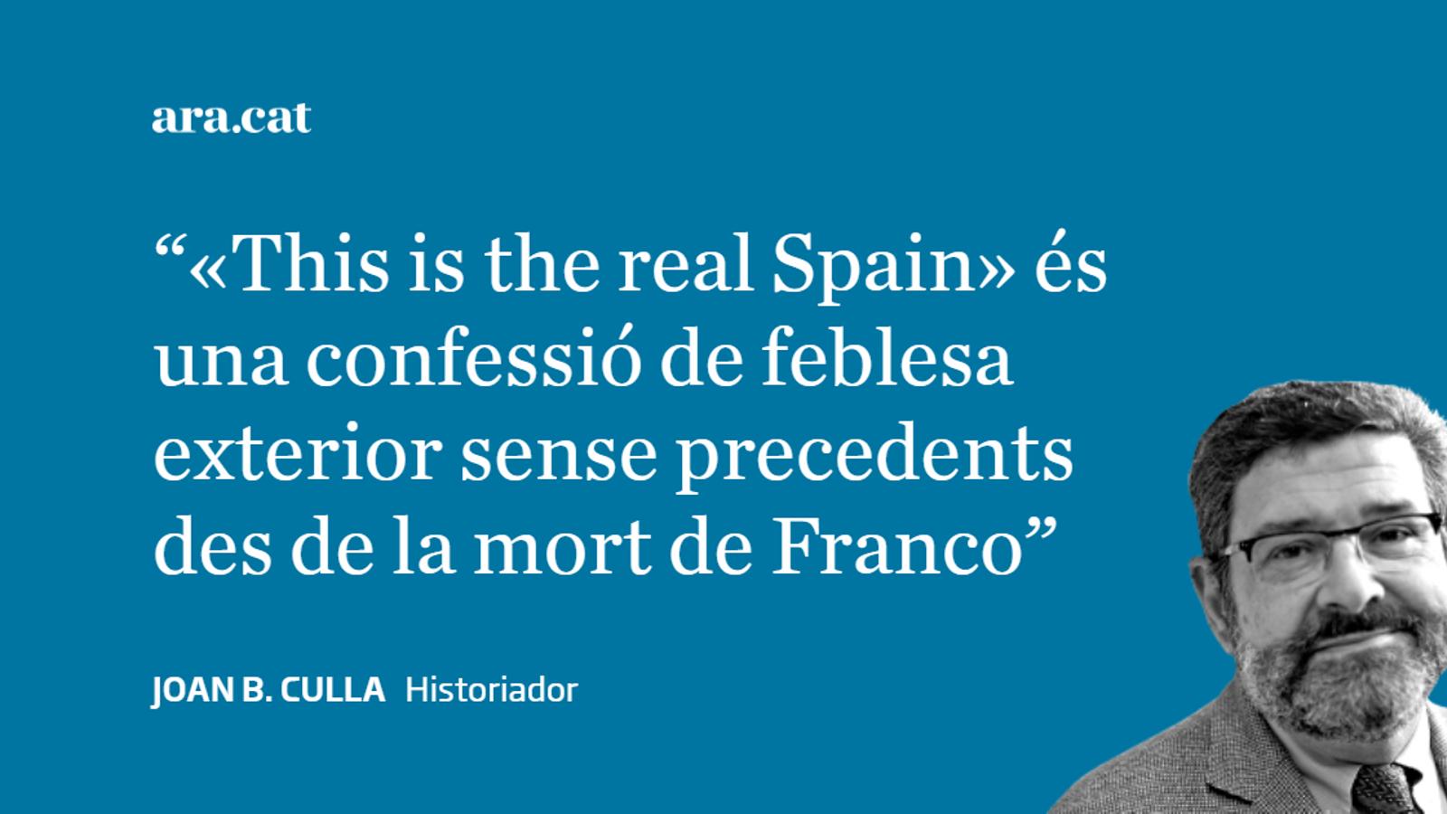 L'Espanya Global, en globus