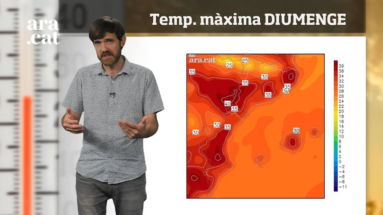 Méteo especial: cap de setmana de calor forta que no durarà
