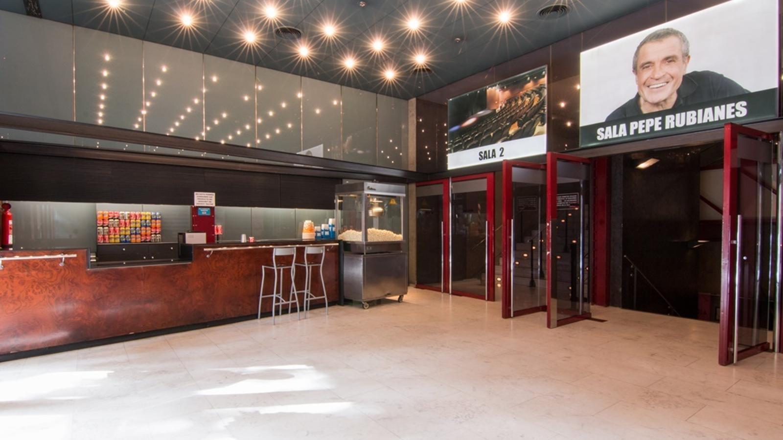 El vestíbul del Club Capitol en una imatge d'arxiu
