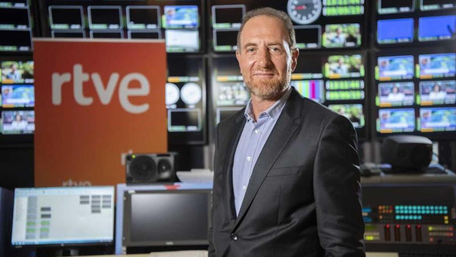 Enric Hernàndez, cap d'informació i actualitat de TVE i impulsor dels canvis de la graella