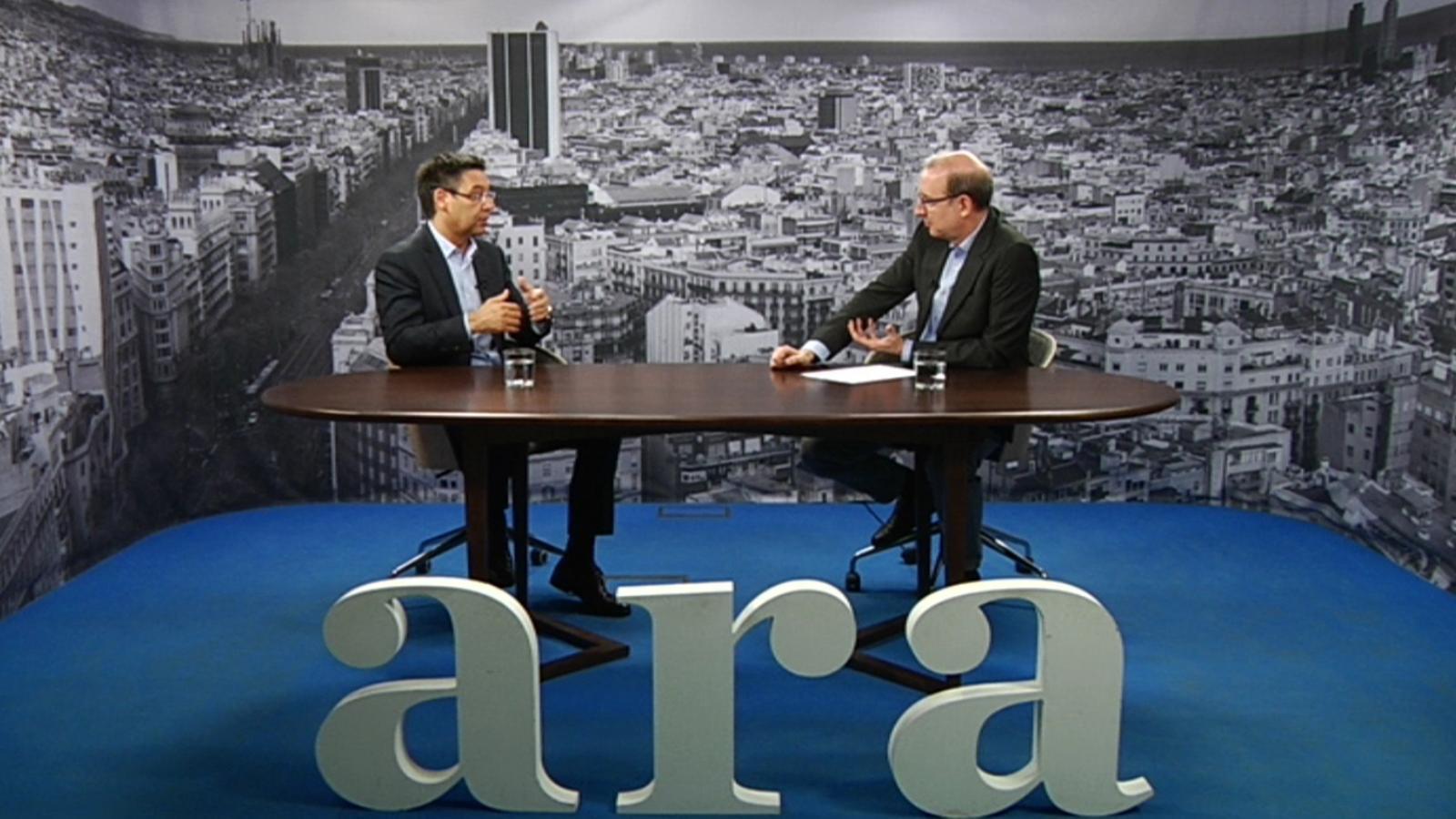 Entrevista d'Antoni Bassas a Josep Maria Bartomeu