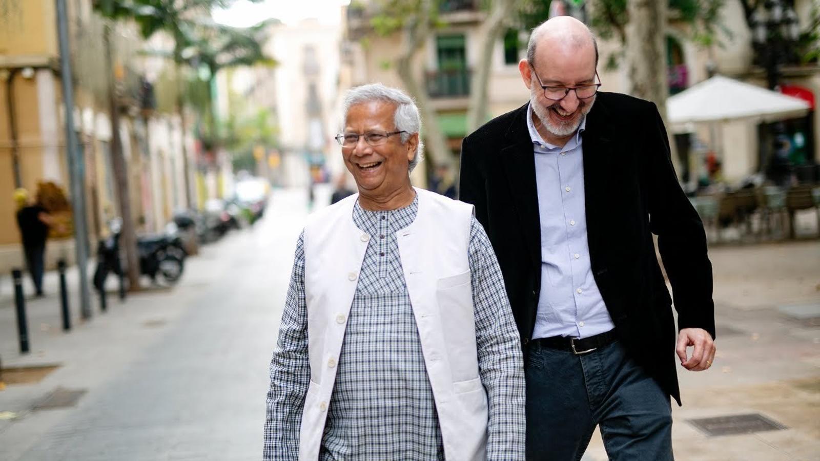 """Muhammad Yunus: """"Al món el matarà el plàstic, no cal que fabriquem bombes nuclears"""""""