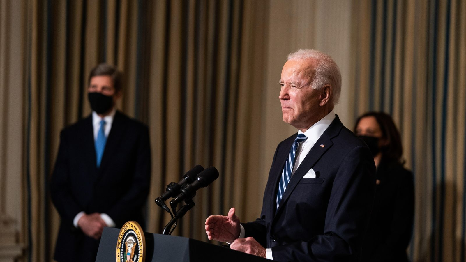 Biden posa la crisi climàtica «al centre de la política interna i externa» dels Estats Units