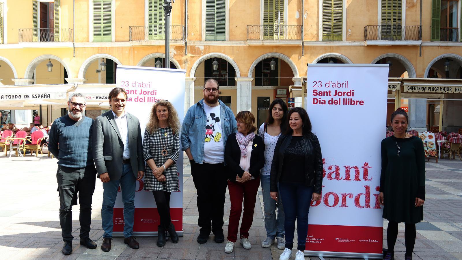 El Gremi de Llibreters de Mallorca ultima els preparatius de Sant Jordi