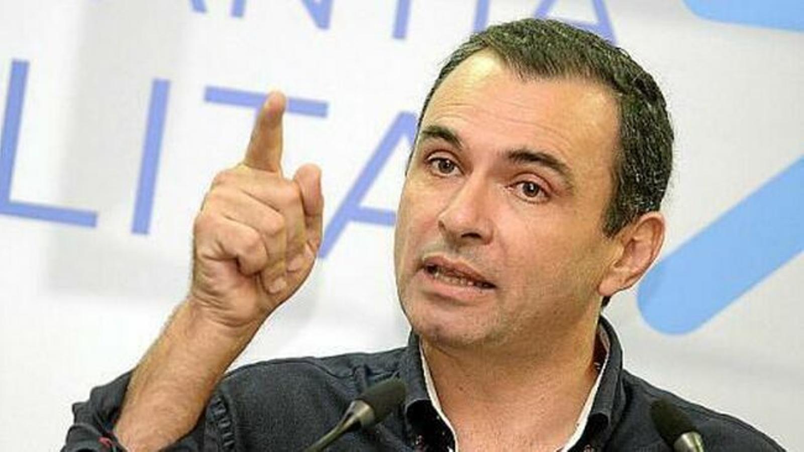 José Manuel Ruiz, en una imatge d'arxiu. / ÚLTIMA HORA