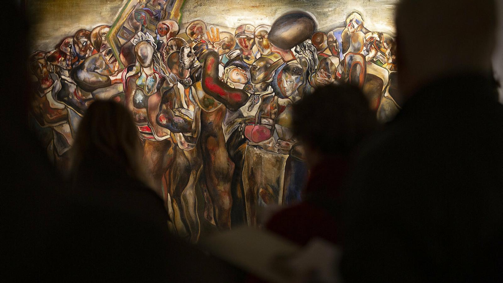 L'expressionisme indòmit i introspectiu de Guerrero Medina