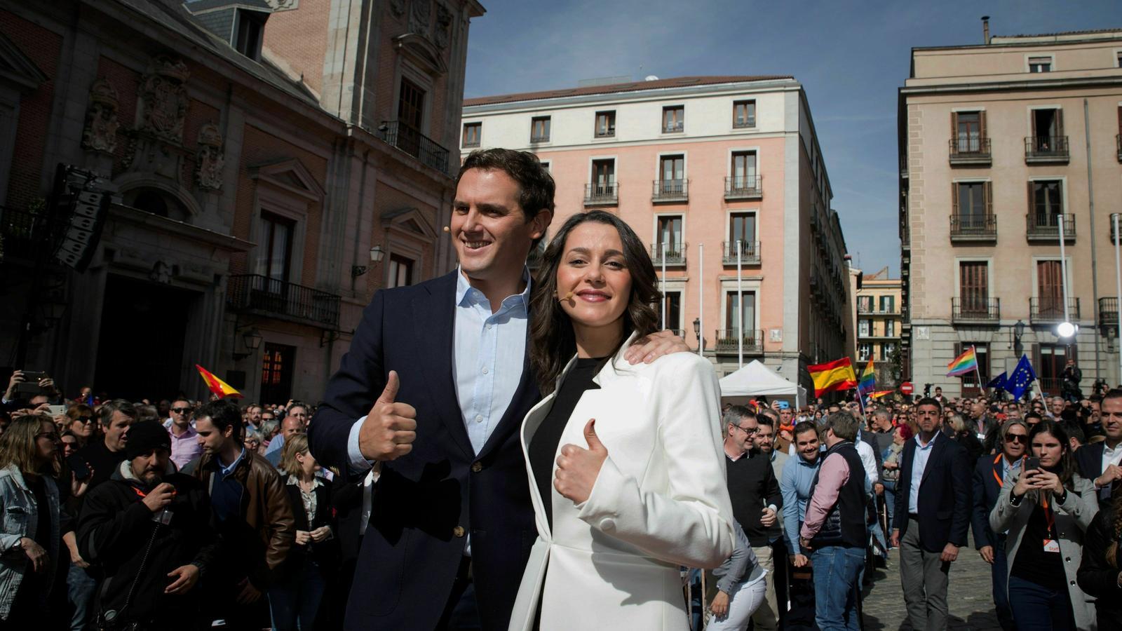 """Arrimadas fa el salt a Madrid: """"Traurem Sánchez i els separatistes del govern espanyol"""""""