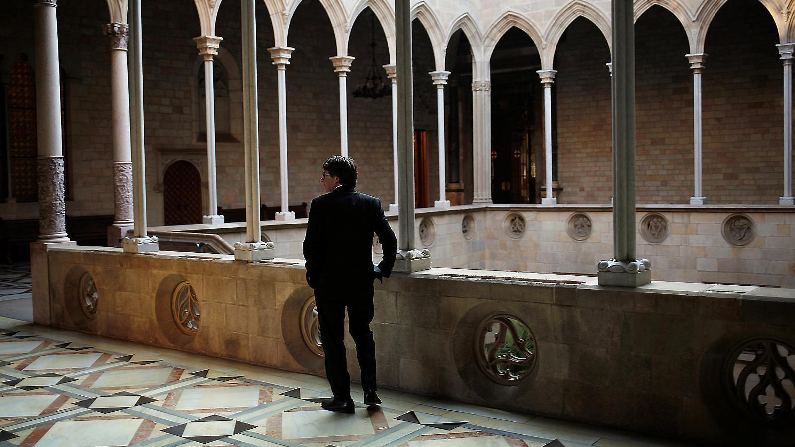 Màxima pressió a Puigdemont perquè reactivi la DUI
