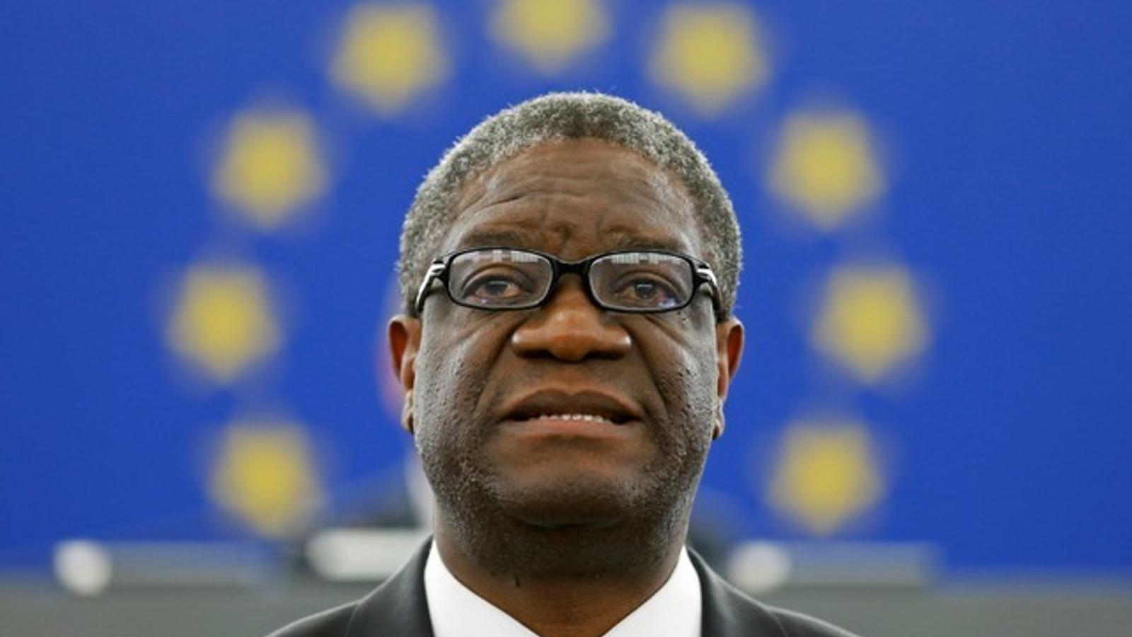 El metge congolès Denis Mukwege i la iraquiana Nadia Murad, premis Nobel de la pau