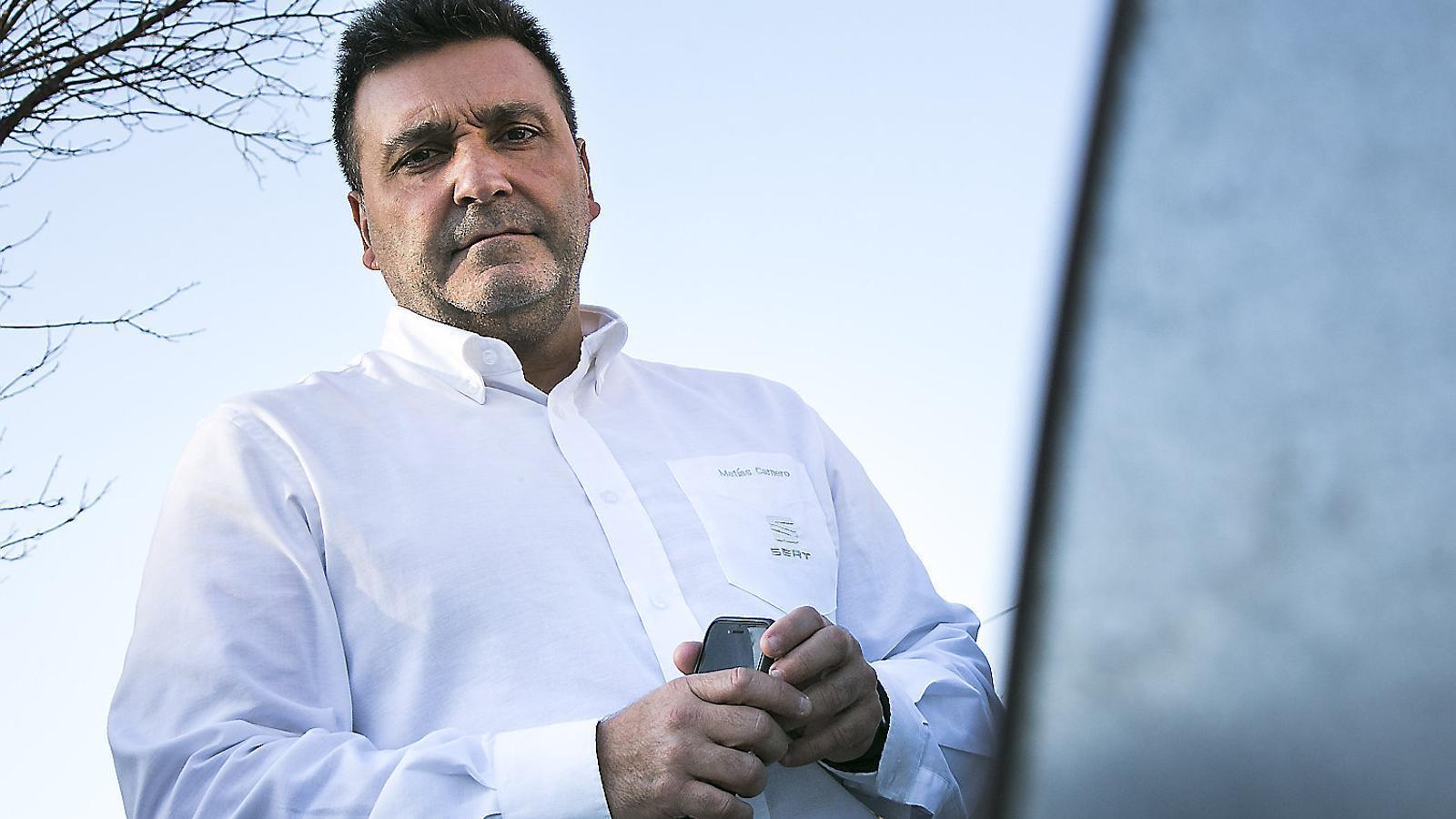"""Matías Carnero: """"Que per què Seat no marxa de Catalunya? Miri, deixi'ns tranquils, deixi'ns fer cotxes"""""""