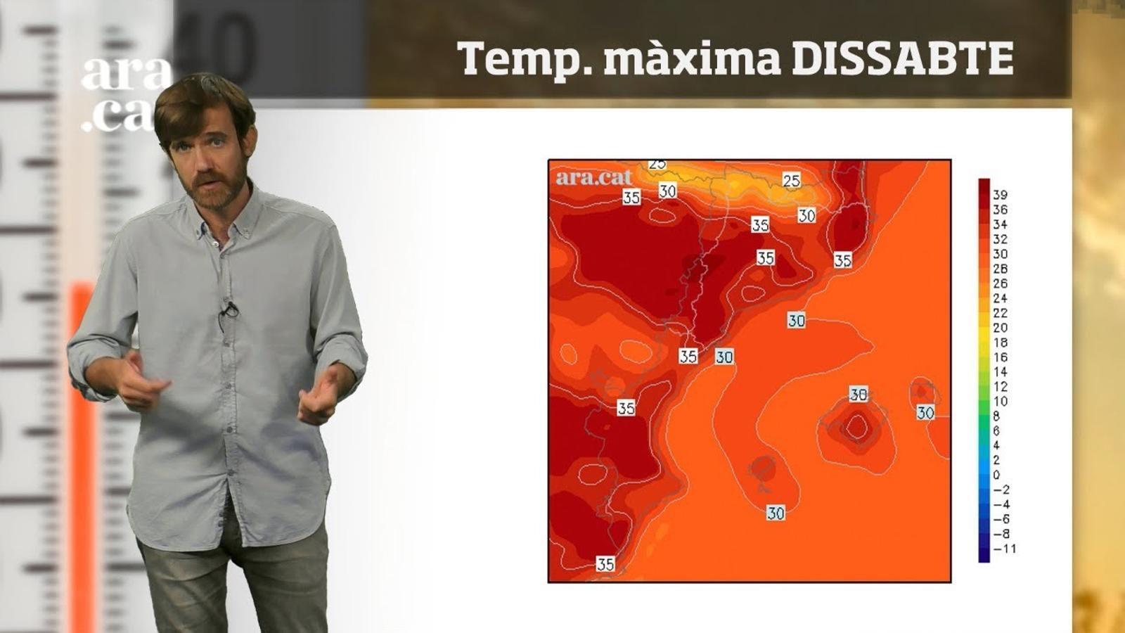 La méteo en 1 minut: cap de setmana amb calor encara més intensa