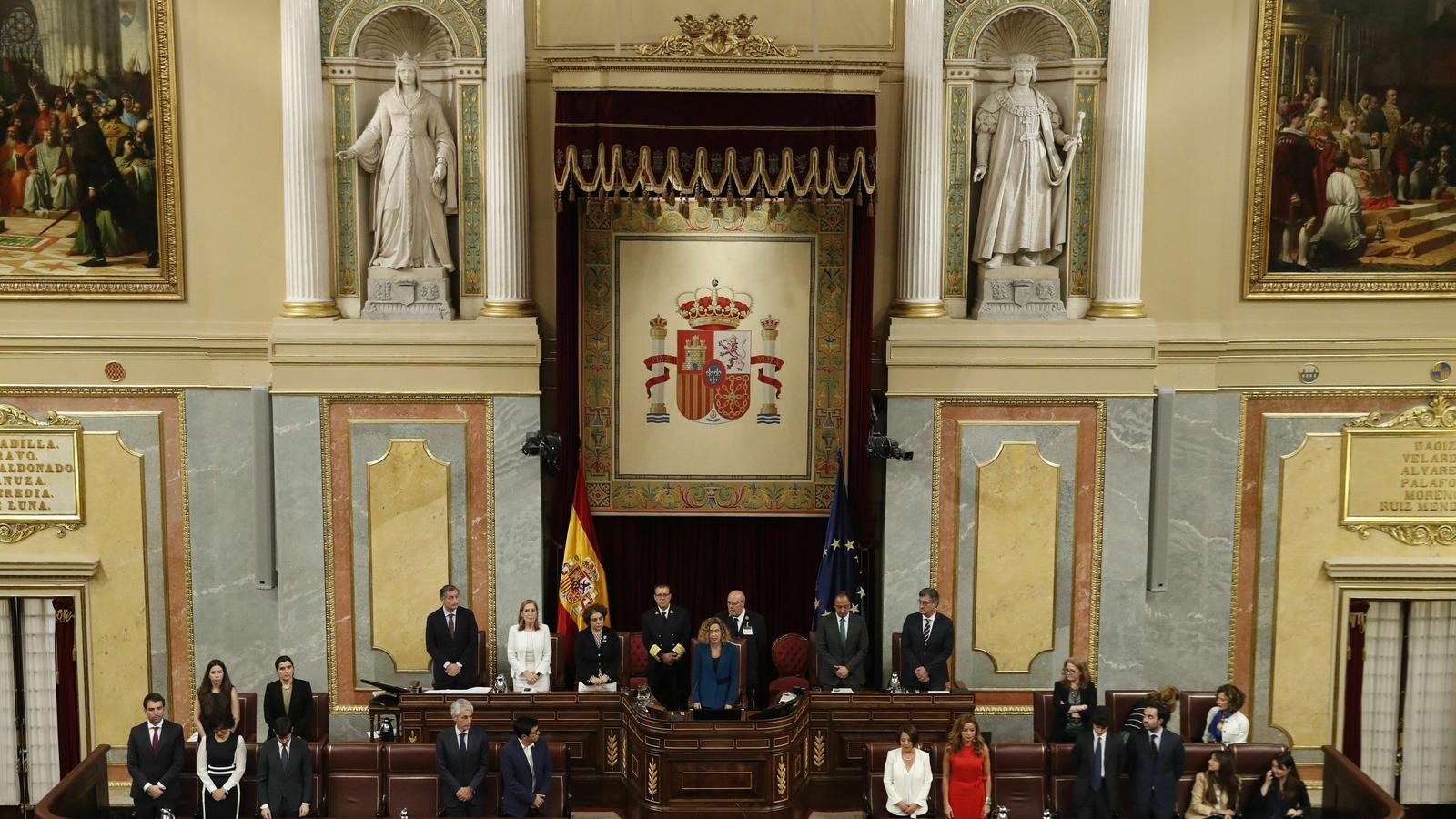 Qui són els nou membres de la mesa del Congrés que hauran de decidir si suspenen els presos polítics?