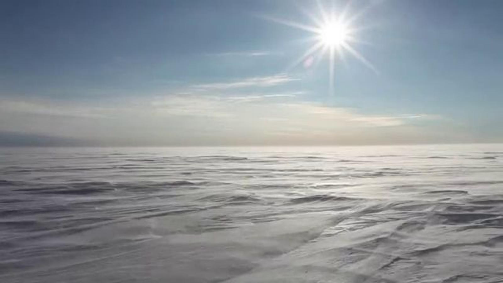 Primeres imatges del documental sobre l'expedició d'Acciona a l'Antàrtida