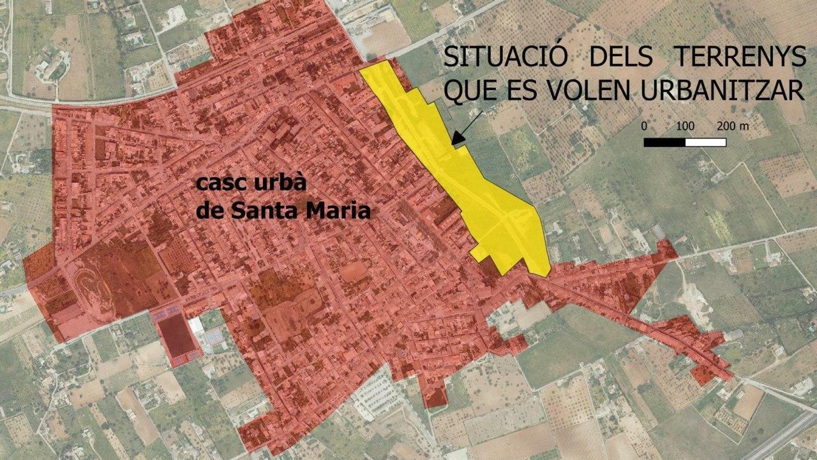 urbanització santa maria