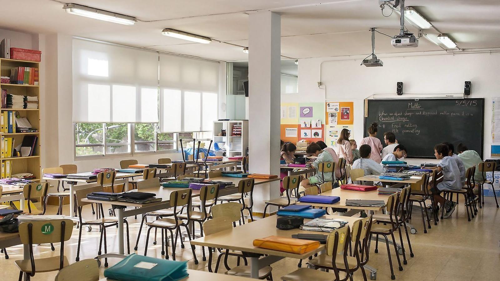 La preinscripció escolar per al curs vinent no inclou la casella de castellà
