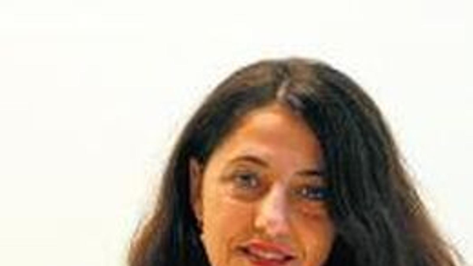La periodista Marisa Goñi.