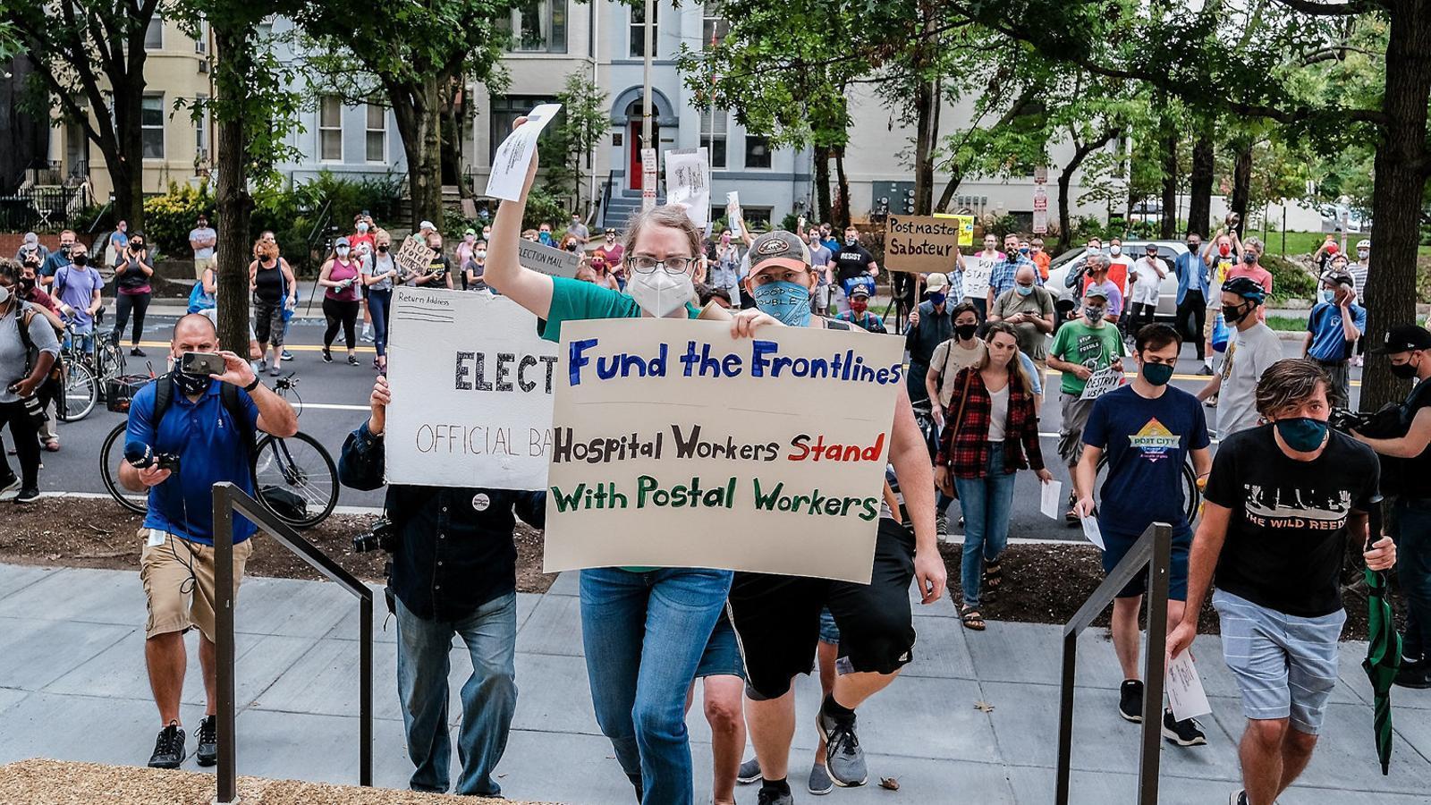 Polèmica als EUA pel vot per correu a les presidencials