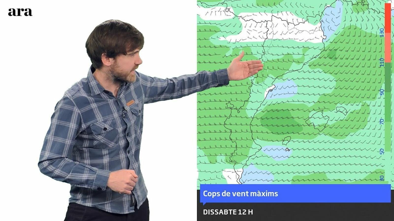 La méteo: vent i poc fred a l'espera d'una tongada de pluja i neu
