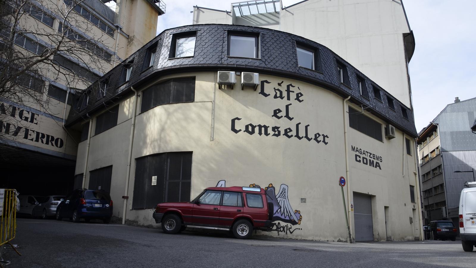Les instal·lacions de Cafè el Conseller, que han patit un robatori aquest cap de setmana. / D.R.