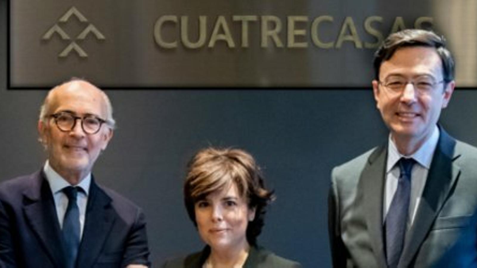 Sáenz de Santamaría fitxa pel bufet d'advocats barceloní Cuatrecasas