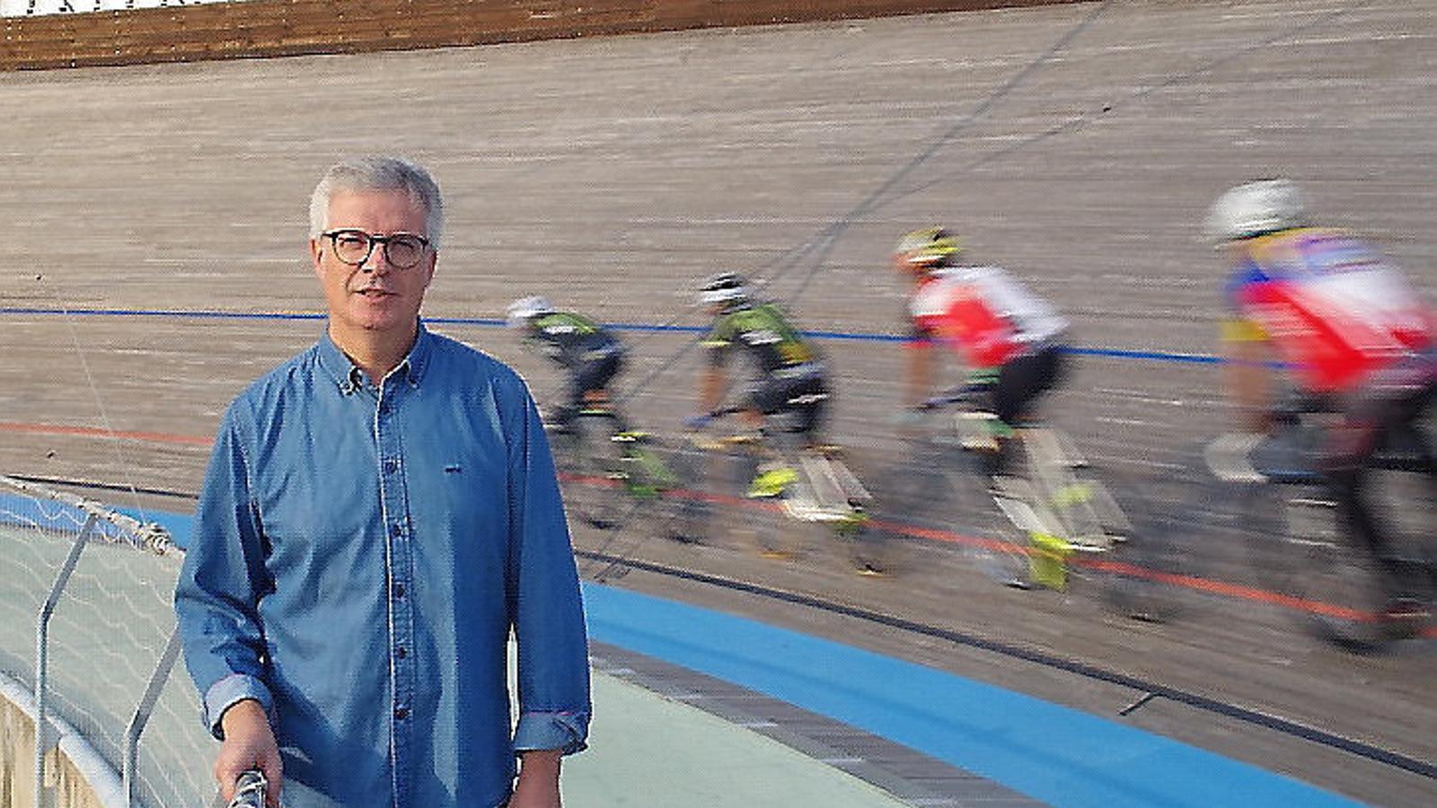 Joaquim Vilaplana lidera una de les dues candidatures per presidir la Federació Catalana de Ciclisme.