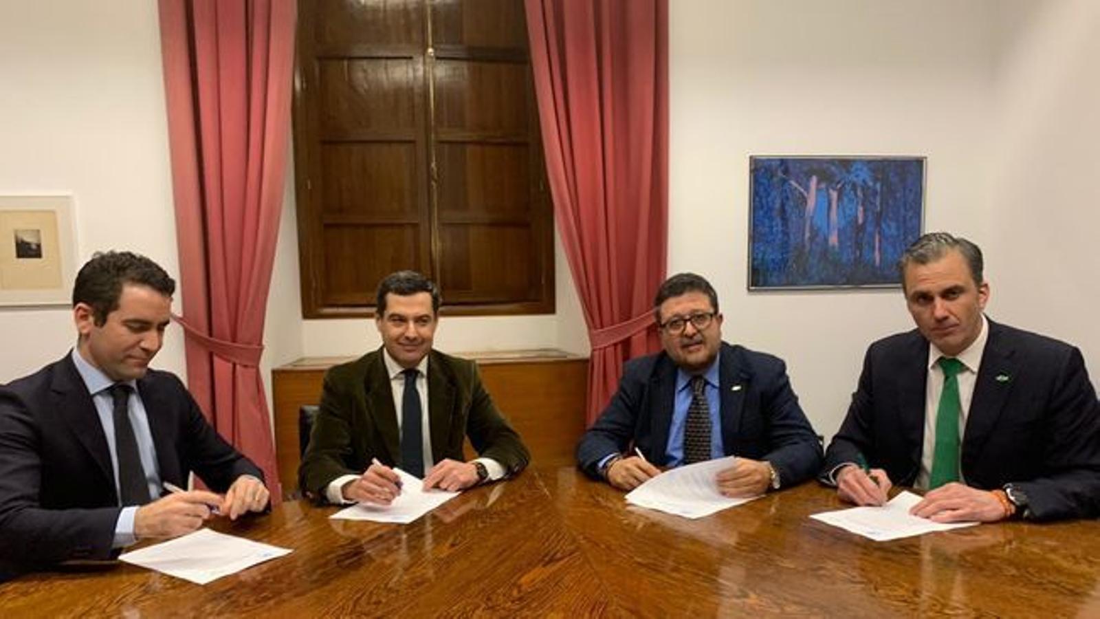La premsa internacional posa la mirada al pacte de govern a Andalusia amb el suport de Vox
