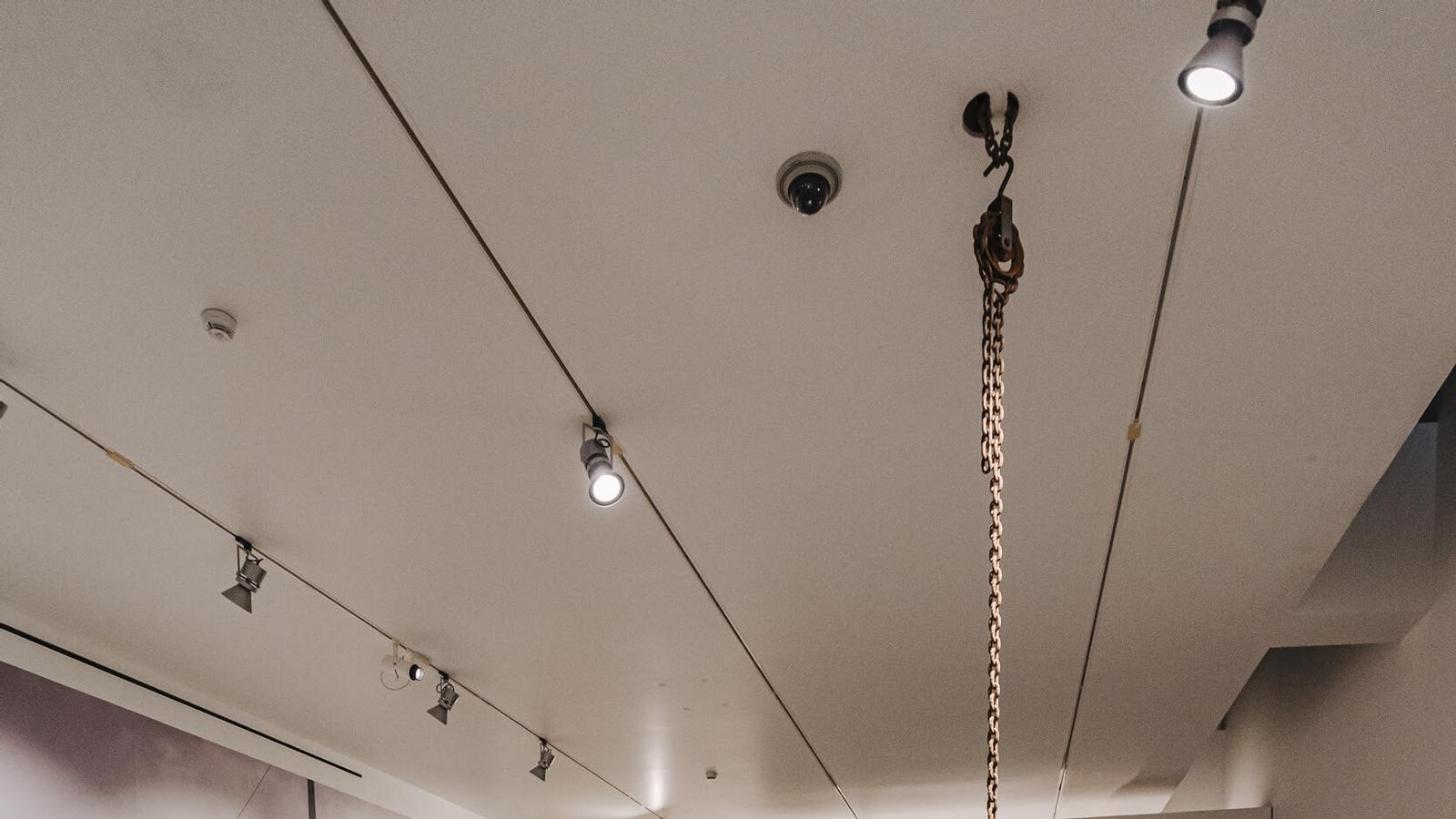 Una de les visites comentades de la XXIV edició de la Nit de l'Art de Palma