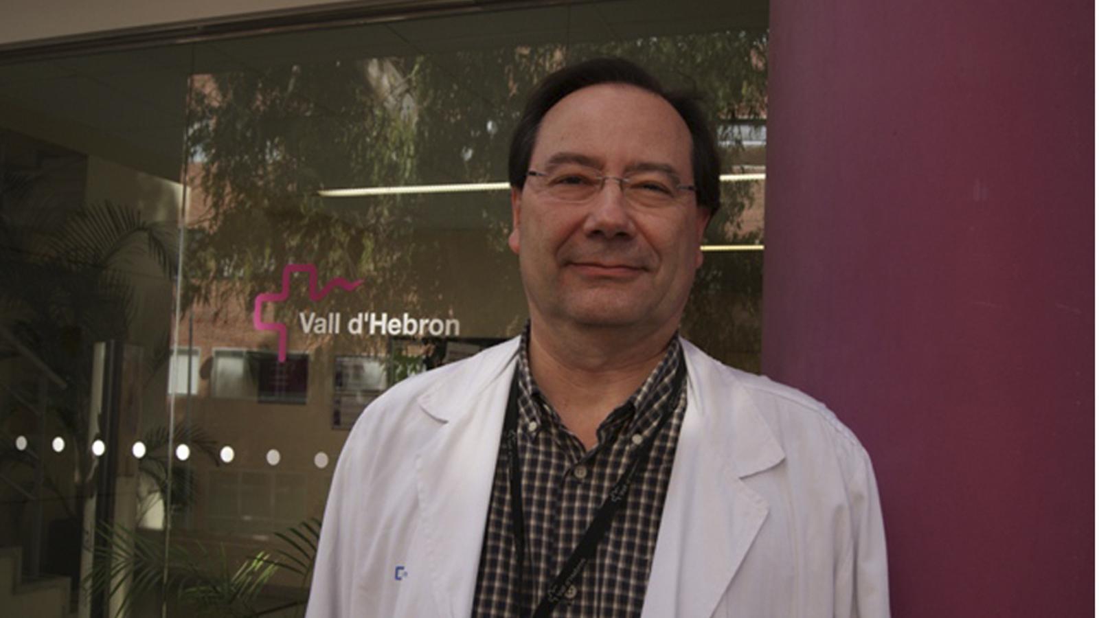 Tomàs Pumarola, cap de Microbiologia de l'hospital Vall d'Hebron