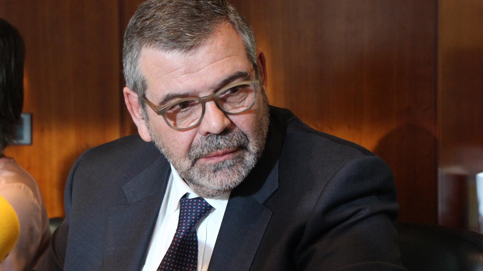 El president de la CASS, Jean-Michel Rascagneres. / M. T.