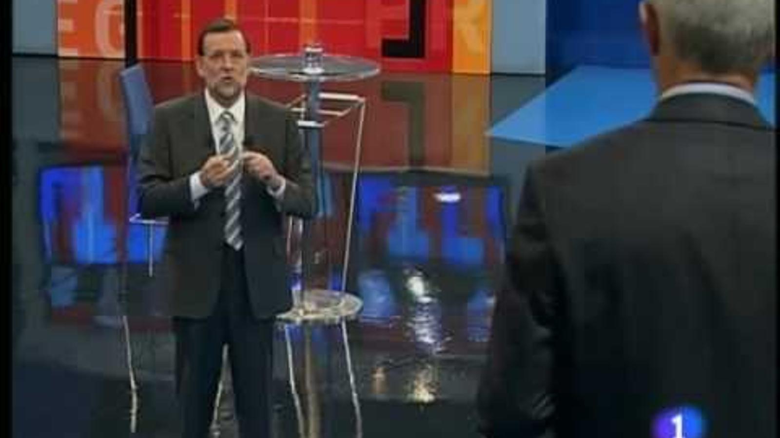 Rajoy sobre Trillo