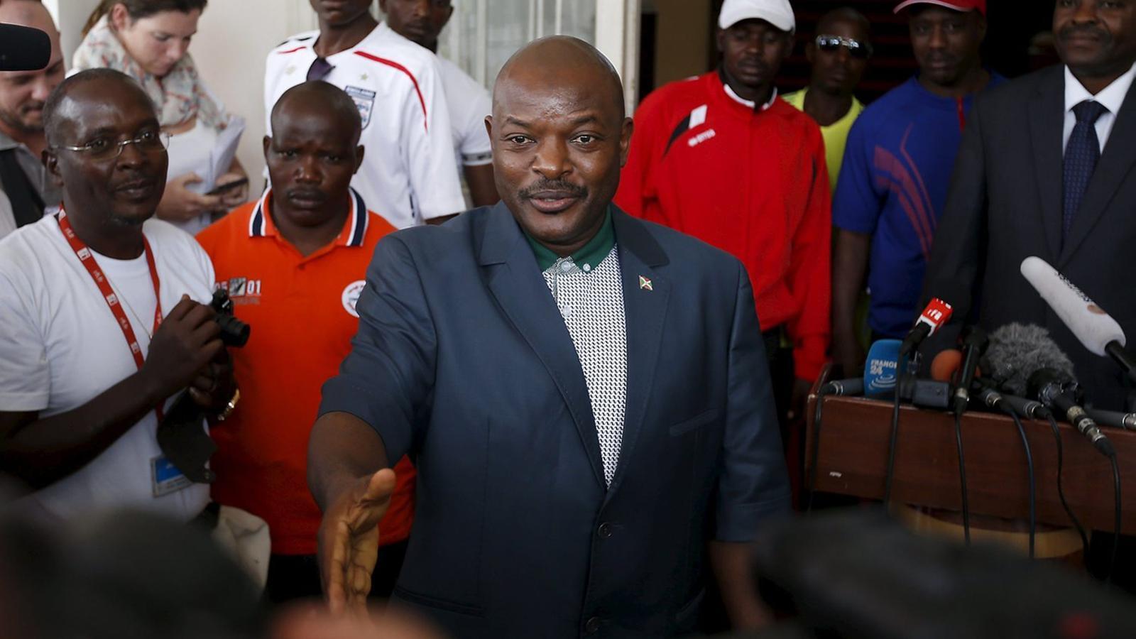 El president de Burundi alerta del perill d'Al-Shabaab