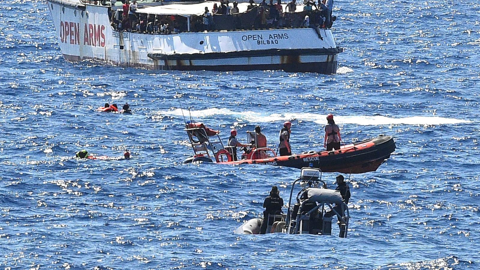 El govern espanyol enviarà un vaixell de l'armada per escortar l''Open Arms' fins a Palma