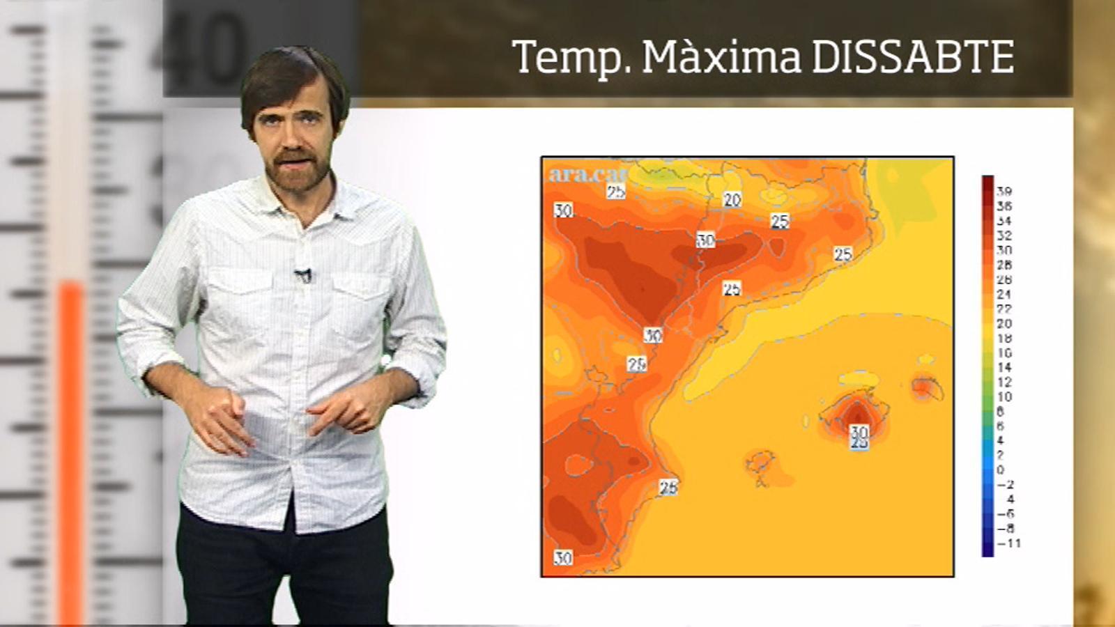 La méteo en 1 minut: primera calorada de l'any