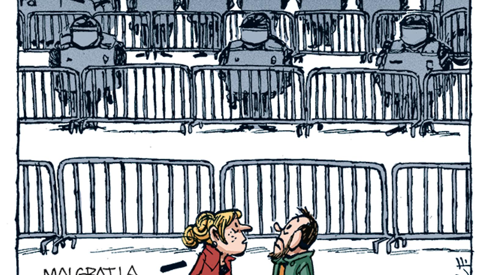 La vinyeta de Manel Fontdevila 4/11/2019