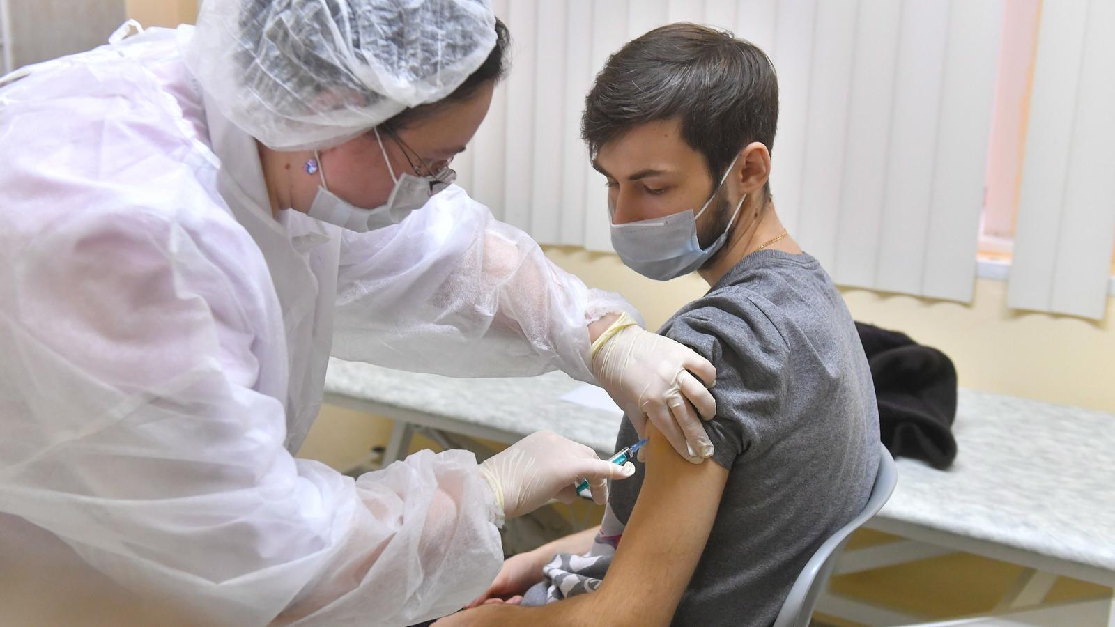 Vacunació a Moscou
