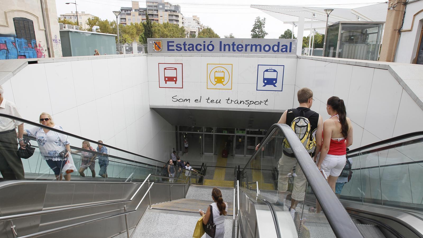 Els voltants de l'Estació Intermodal de Palma són un dels llocs on se sap que actuen els prostituïdors de menors.