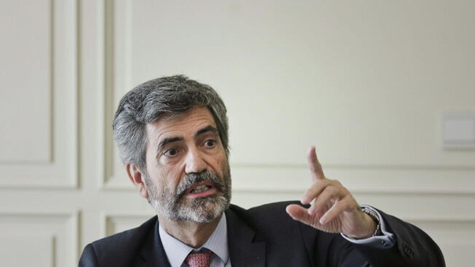La renovación del CGP y el TC,  para después de las elecciones catalanas