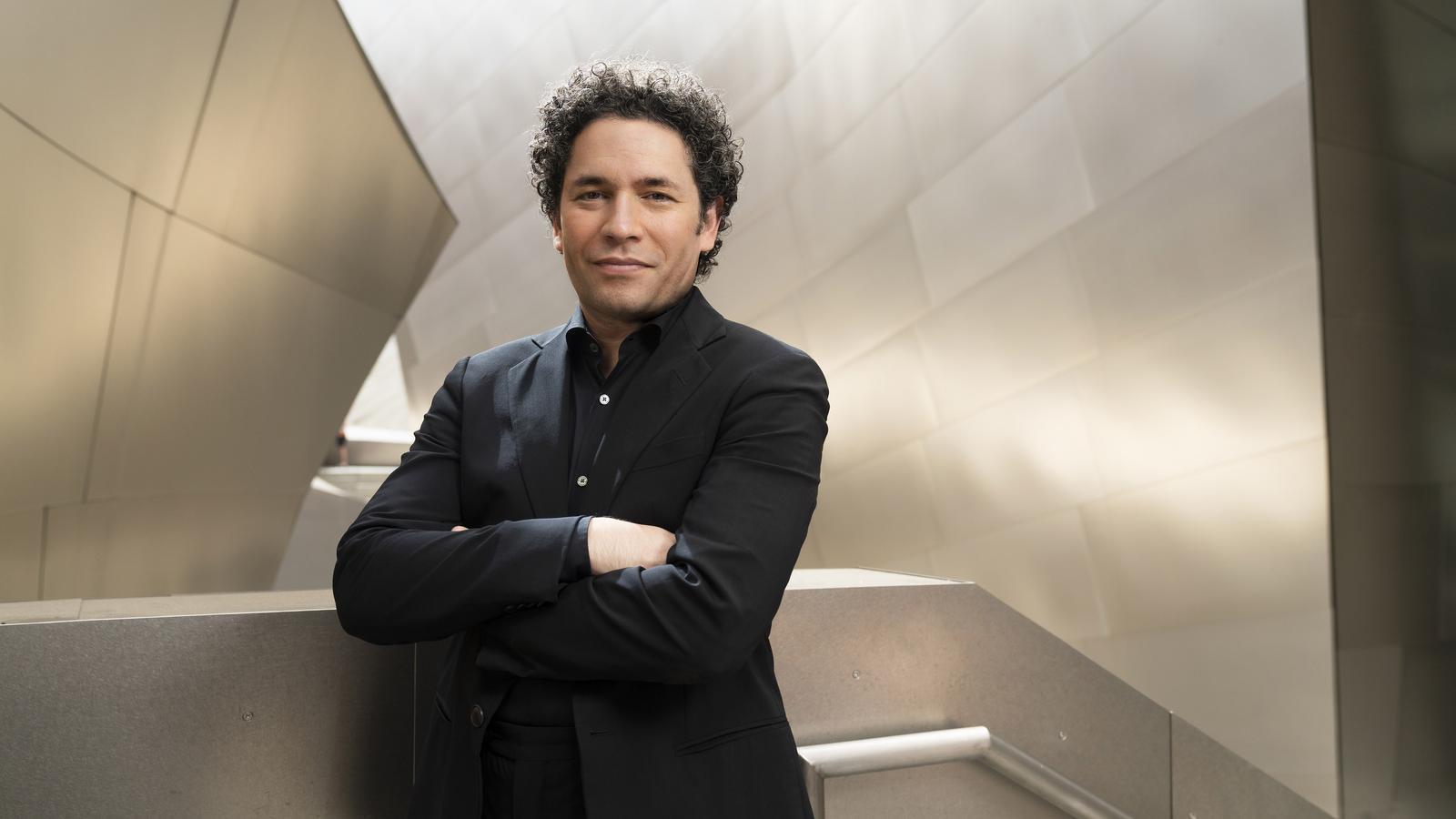 El director Gustavo Dudamel