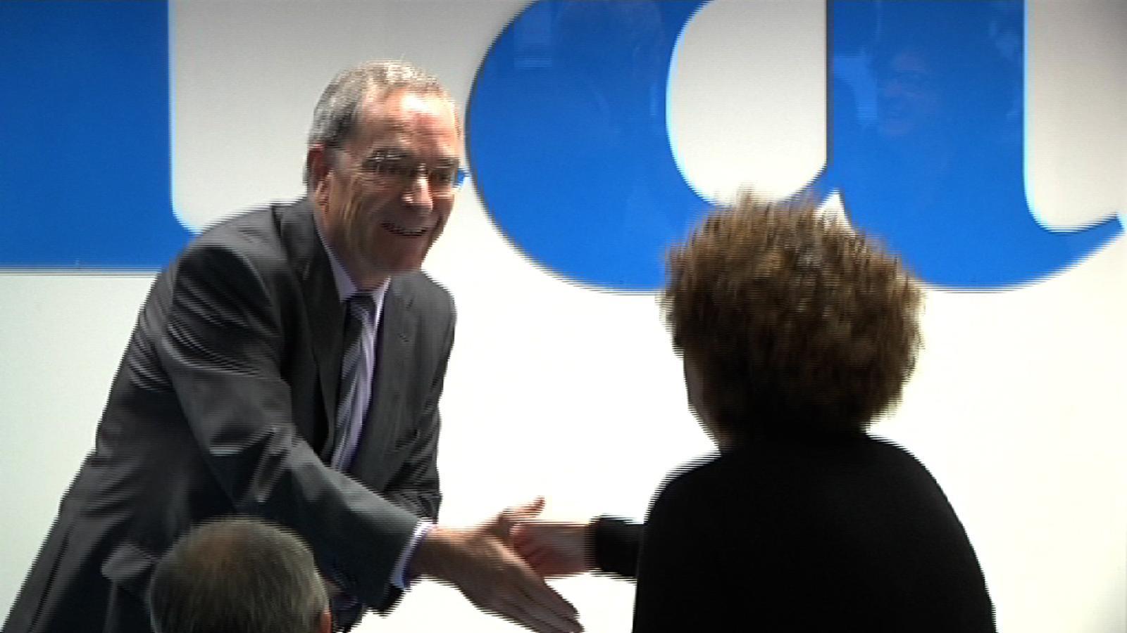 El director general de la Fundació La Caixa Jaume Lanaspa, a les 'Converses de món que ve'